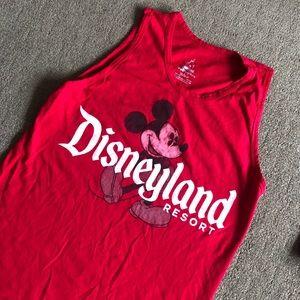 Red Disneyland Tank